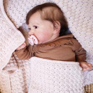 Beautiful Texture Crochet Baby Blanket