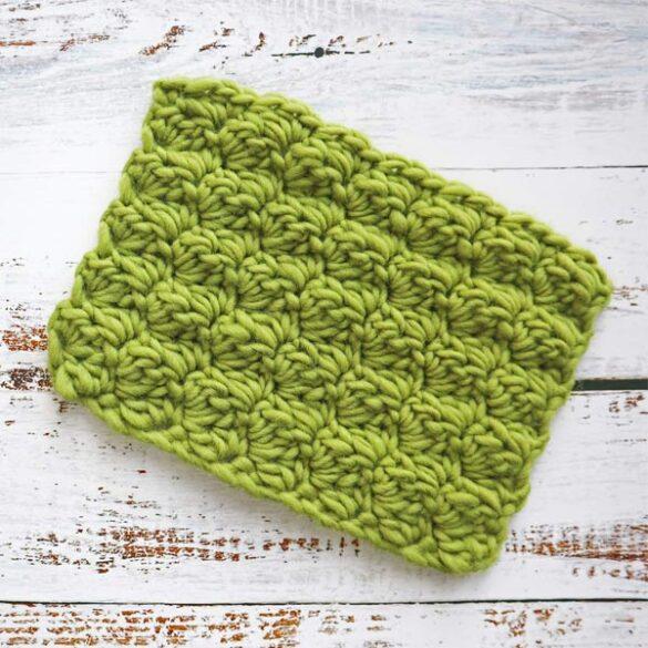lær at hækle sedge stitch